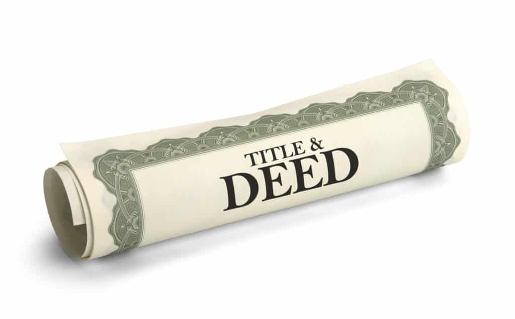 Title and deed graphic