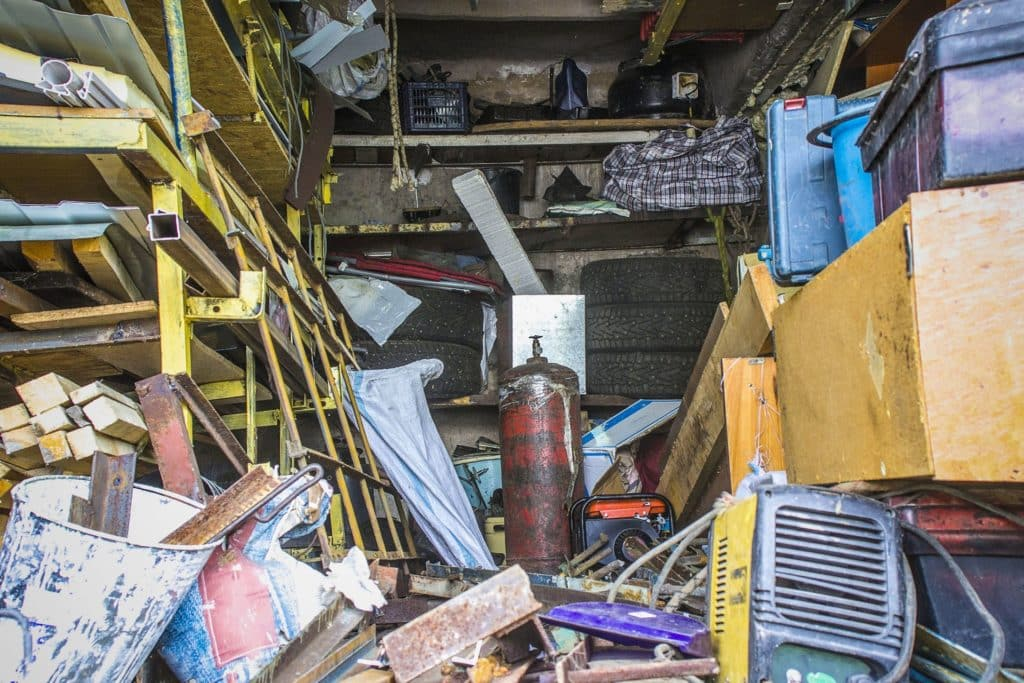 Death of a hoarder
