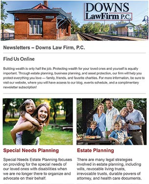 Monthly Estate Planning News